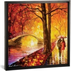 """iCanvas Dreaming Emotions by Leonid Afremov Gallery-Wrapped Canvas Print - 26"""" x 26"""" x 0.75"""""""