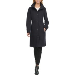 Tommy Hilfiger Single-Breasted Stand-Collar Coat found on MODAPINS from Macy's for USD $191.99