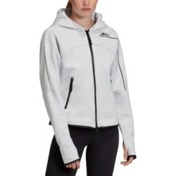 adidas Women's Zne Zip Hoodie found on Bargain Bro from Macy's for USD $57.00