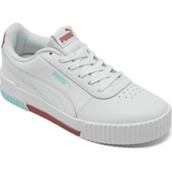 Puma Women's Carina Casual Sneakers from Finish Line found on Bargain Bro from Macy's for USD $34.20