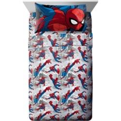 Spiderman 3-Piece Twin Sheet Set Bedding
