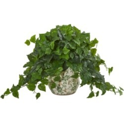 "Nearly Natural 23"" London Ivy Artificial Plant in Vase (Real Touch)"