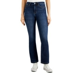 Calvin Klein Jeans High-Rise Tummy-Control Bootcut Jeans found on MODAPINS from Macy's for USD $58.99