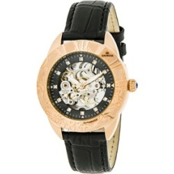 Empress Godiva Automatic Black Leather Watch 38mm found on Bargain Bro India from Macy's for $211.99