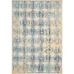 Safavieh Evoke EVK262C Ivory/Blue 5'1