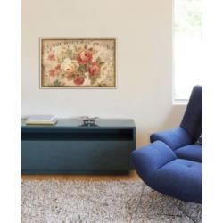 """iCanvas """"Parisian Flowers Iii"""" by Danhui Nai Gallery-Wrapped Canvas Print (26 x 40 x 0.75)"""