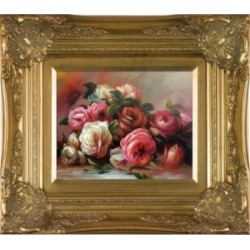 La Pastiche By Overstockart Discarded Roses with Victorian Frame, 16