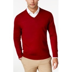 Club Room Men's Merino Performance V-Neck Sweater, Created for Macy's found on MODAPINS from Macy's for USD $24.99