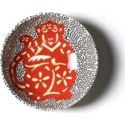 Coton Colors by Laura Johnson Chinese Zodiac Monkey Bowl