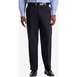 Haggar Men's W2W Pro Relaxed-Fit Flat Front Casual Pants found on MODAPINS from Macys CA for USD $36.68