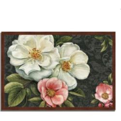 Tangletown Fine Art Floral Damask I by Lisa Audit Framed Painting Print, 32