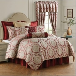 Rose Tree Norwich 4 Piece King Comforter Set Bedding