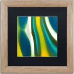 Amy Vangsgard 'Spring Stream 2' Matted Framed Art - 16