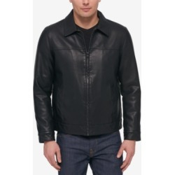 Tommy Hilfiger Men's Faux Leather Laydown Collar Jacket found on Bargain Bro Philippines from Macy's for $195.00