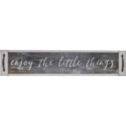 """Vip Home International Wood """"Little Things"""" Sign"""