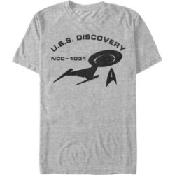 Star Trek Men's Discovery Logo U.s.s. Discovery Short Sleeve T-Shirt found on Bargain Bro Philippines from Macy's for $24.99