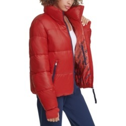 Tommy Hilfiger Sport Cropped Puffer Thumbhole Coat found on Bargain Bro India from Macy's for $64.75