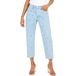 Lucky Brand Embroidered Relaxed Tapered Jeans found on MODAPINS from Macy's for USD $59.40