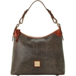 Dooney & Bourke Lizard-Embossed Leather Hobo, Created for Macy's found on Bargain Bro India from Macy's for $298.00