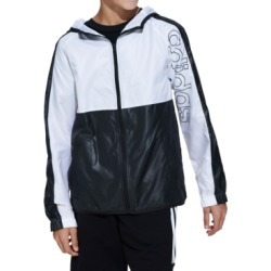 adidas Big Boys Colorblocked Hooded Windbreaker found on Bargain Bro India from Macy's for $19.93