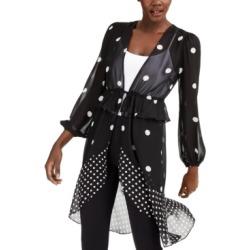 Inc Polka-Dot Tie-Waist Kimono, Created for Macy's found on MODAPINS from Macy's for USD $79.50