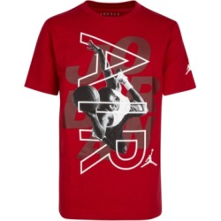 Jordan Big Boys Over the Top Cotton T-Shirt found on Bargain Bro Philippines from Macy's Australia for $26.46