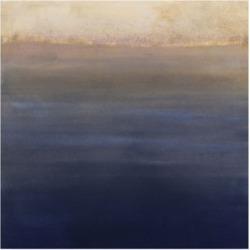 "Victoria Borges Indigo Sundown Ii Canvas Art - 20"" x 25"""