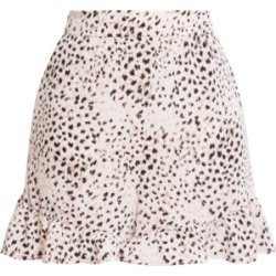 Bcbgmaxazria Ruffled Animal-Print Shorts found on Bargain Bro Philippines from Macy's Australia for $44.03
