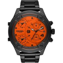 Diesel Men's Chronograph Boltdown Gunmetal Stainless Steel Bracelet Watch 56mm found on Bargain Bro India from Macy's for $425.00