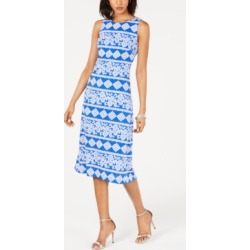 Jessica Howard Printed Midi Dress found on Bargain Bro India from Macys CA for $52.40