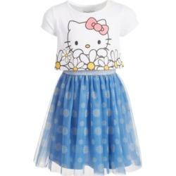 Hello Kitty Toddler Girls Oversized Daisy Layered-Look Dress found on MODAPINS from Macy's Australia for USD $42.15
