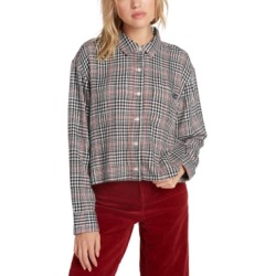 Volcom Juniors' Plaid Button-Up Shirt found on Bargain Bro Philippines from Macy's Australia for $19.48
