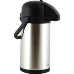 Mr. Coffee Javamax 2.24 Quart Stainless Steel Vacuum Sealed Double Wall Pump Pot