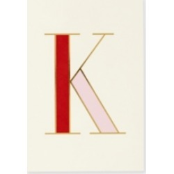 Kate Spade New York It's Personal Initial Collection Notepad, K