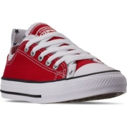 Converse Big Boys Chuck Taylor All Star Double Upper Low-Top Casual Sneakers from Finish Line found on Bargain Bro India from Macy's for $40.00