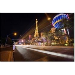 "David Ayash 'Las Vegas Blvd.' Canvas Art - 47"" x 30"""