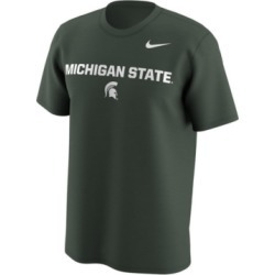 Nike Men's Michigan State Spartans Legend Logo Lockup T-Shirt found on Bargain Bro India from Macy's for $30.00