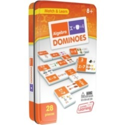 Junior Learning Algebra Dominoes Match and Learn Educational Learning Game