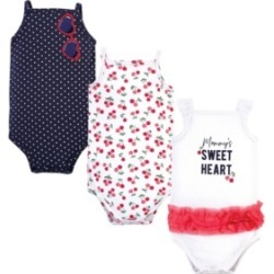 Little Treasure Baby Girls Cherries Bodysuits, Pack of 3 found on Bargain Bro India from Macy's for $13.99