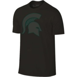 Champion Men's Michigan State Spartans Black Out Dual Blend T-Shirt found on Bargain Bro India from Macy's for $22.00