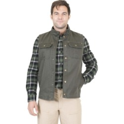 Mountain and Isles Men's Flannel Lined Waxed Cotton Vest found on MODAPINS from Macy's for USD $52.49