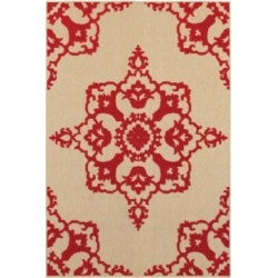 Oriental Weavers Cayman 097R9 Sand/Red 7'10
