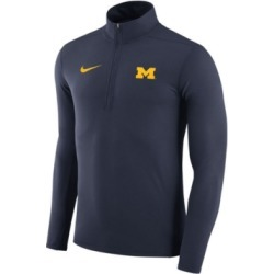 Nike Men's Michigan Wolverines Element Quarter-Zip Pullover found on Bargain Bro India from Macy's for $70.00