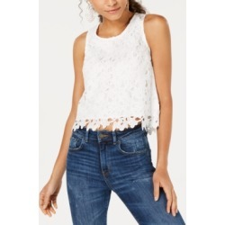 Bar Iii Cropped Lace Top, Created for Macy's found on Bargain Bro India from Macys CA for $31.19