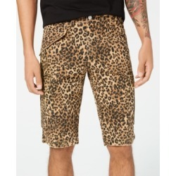 Guess Men's Leopard-Print Cargo Shorts found on MODAPINS from Macy's for USD $59.25