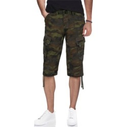X-Ray Men's Belted Capri Cargo Shorts found on MODAPINS from Macy's for USD $48.00
