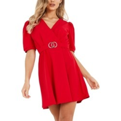 Quiz Belted Shift Dress found on MODAPINS from Macys CA for USD $72.63