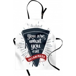 Ambesonne Funny Words Apron