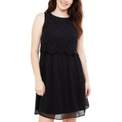 Motherhood Maternity Tiered Lace Nursing Dress found on Bargain Bro India from Macy's for $58.48