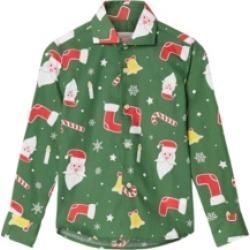 Opposuits Toddler Boys Santa boss Christmas Shirt found on Bargain Bro India from Macys CA for $23.60